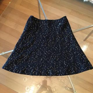 CHANEL - 定価50万円スパンコールスカート