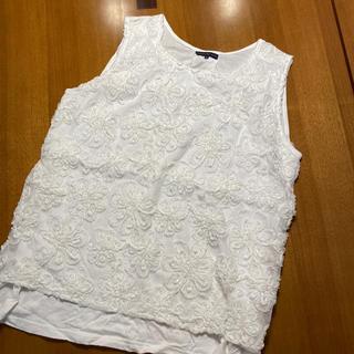 アトリエシックス(ATELIER SIX)のアトリエシックス アトリエ6 上品 白 カットソー 40 L(Tシャツ(半袖/袖なし))
