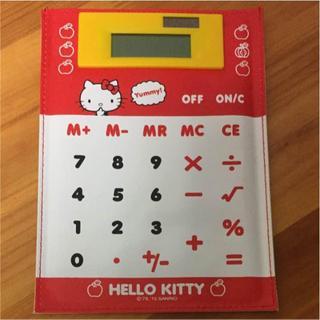 ハローキティ(ハローキティ)のハローキティ HELLO KITTY 電卓(その他)