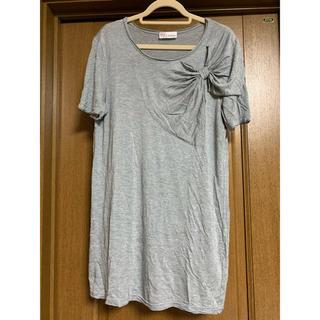 レッドヴァレンティノ(RED VALENTINO)のRED VALENTINO ヴァレンティノ Tシャツ チュニック(Tシャツ(半袖/袖なし))