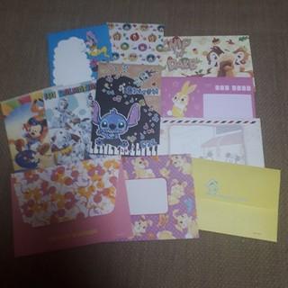 ディズニー(Disney)のディズニー レターセットまとめ売り(カード/レター/ラッピング)