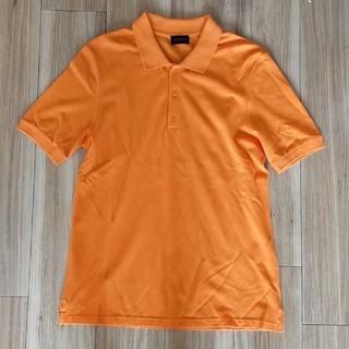 ラフシモンズ(RAF SIMONS)のRAF SIMONS ラフシモンズ ポロシャツ オレンジ Mサイズ(ポロシャツ)
