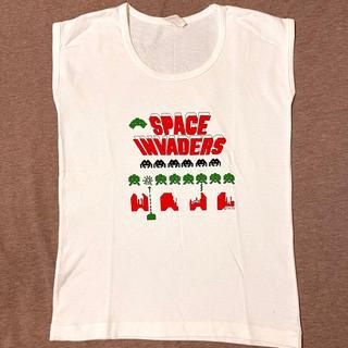 タイトー(TAITO)の80's SPACE INVADERS スペースインベーダー  Tシャツ (Tシャツ/カットソー(半袖/袖なし))