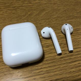 アップル(Apple)のairpods 第一世代 Apple純正品 完動品(ヘッドフォン/イヤフォン)