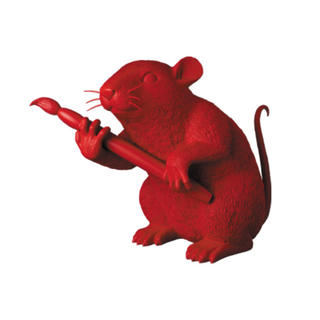 メディコムトイ(MEDICOM TOY)のLOVE RAT RED Ver. BANKSY MEDICOM TOY(その他)