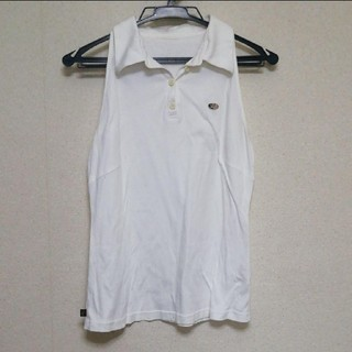 アトリエサブ(ATELIER SAB)のノースリーブポロTシャツ☆アトリエサブ(Tシャツ/カットソー(半袖/袖なし))