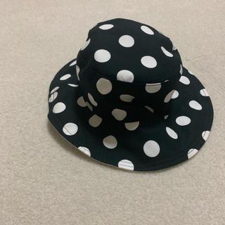 アニエスベー(agnes b.)のアニエスベー、キッズ、帽子、リバーシブルハット(帽子)