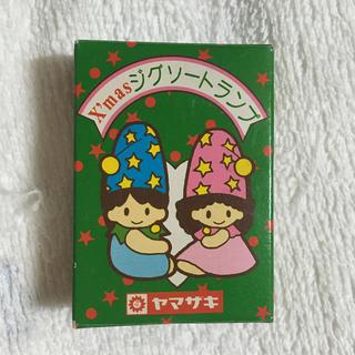 ヤマザキセイパン(山崎製パン)の非売品 クリスマスジグソートランプ 児童用(トランプ/UNO)