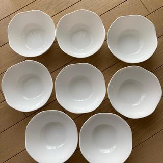 ヤマザキセイパン(山崎製パン)の新品 山崎春のパン祭り 8枚セット小鉢 強化ガラス サラダポール8枚セット (食器)