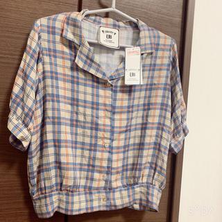 シマムラ(しまむら)のチェックシャツ(シャツ/ブラウス(半袖/袖なし))