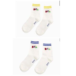 ボウダンショウネンダン(防弾少年団(BTS))のBTS DNA ソックス 靴下 2つセット(ソックス)