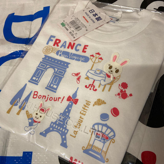 ミキハウス(mikihouse)の100♡新品♡旅するうさこ♡Tシャツ♡ミキハウス(Tシャツ/カットソー)