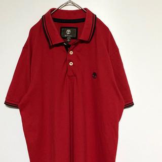 ティンバーランド(Timberland)の【美品】Timberland red Polo-shirt(ポロシャツ)