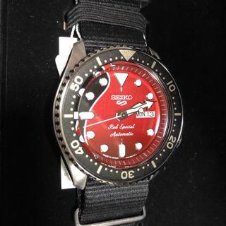 セイコー(SEIKO)の値下 SEIKO セイコー5 スポーツ ブライアン・メイ コラボ SBSA073(腕時計(アナログ))