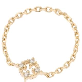 ココシュニック(COCOSHNIK)のダイヤモンドレース リング(リング(指輪))