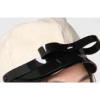 ビームスボーイ(BEAMS BOY)のbernstockspeirs リボン帽子(キャップ)
