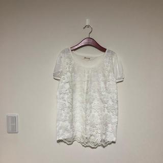 レース Tシャツ(Tシャツ(半袖/袖なし))