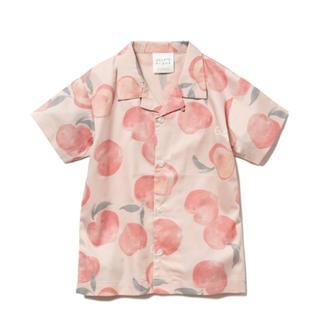 gelato pique - ジェラートピケ フルーツモチーフ KIDS シャツ ショートパンツ セット