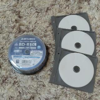 ミツビシ(三菱)の☆新品☆三菱1回録画用 Blu-ray Disc 50GB×3枚(ブルーレイレコーダー)