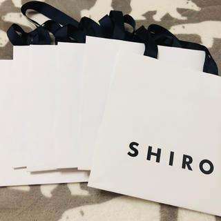 シロ(shiro)のSHIRO 紙袋7枚(ショップ袋)