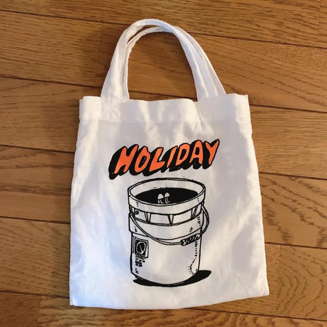 holiday(ホリデイ)の再値下げ! holiday  ミニトートバッグ トート レディースのバッグ(トートバッグ)の商品写真