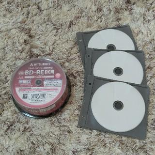 ミツビシ(三菱)の☆新品☆三菱繰返し録画用 Blu-ray Disc50GB×3枚(ブルーレイレコーダー)