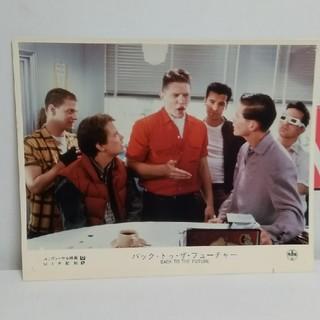 ユニバーサルエンターテインメント(UNIVERSAL ENTERTAINMENT)の85年公開·激レア‼️バック·トゥ·ザ·フューチャーⅠの映画配給会社プレス写真(外国映画)