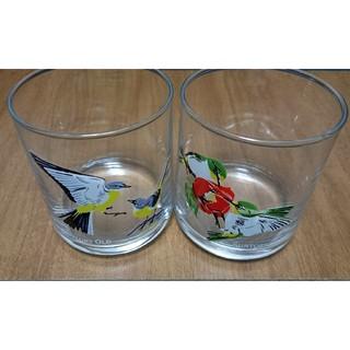 サントリー - サントリーオールド グラス 日本の野鳥シリーズ 昭和レトロ
