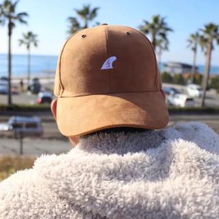 スタンダードカリフォルニア(STANDARD CALIFORNIA)のカリフォルニア系☆LSフィンキャップ ブラウン スェード 帽子 STUSSY(キャップ)