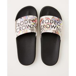 ロデオクラウンズワイドボウル(RODEO CROWNS WIDE BOWL)の新品‼️ アロハシャワーサンダル ロデオ(サンダル)