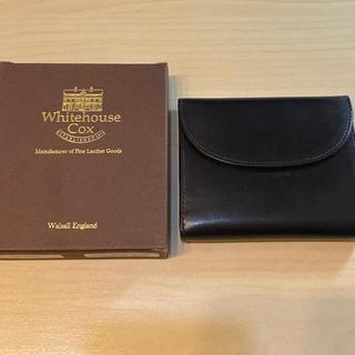 ホワイトハウスコックス(WHITEHOUSE COX)のwhitehouse cox s1058 三つ折り財布(折り財布)