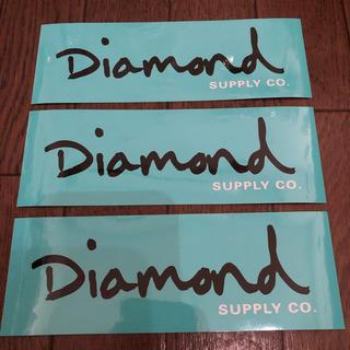 スラッシャー(THRASHER)のDiamond supply co. 3枚セット おまけ付き(スケートボード)