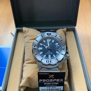 セイコー(SEIKO)のセイコー ネイビー モンスター SZSC003(腕時計(アナログ))