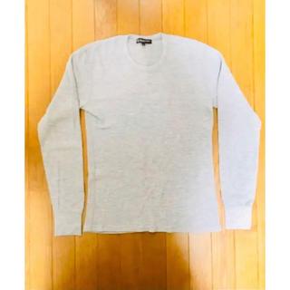ビューティアンドユースユナイテッドアローズ(BEAUTY&YOUTH UNITED ARROWS)のテッドアローズ メンズ ロンT Mサイズ ホワイト・グレー(Tシャツ/カットソー(七分/長袖))