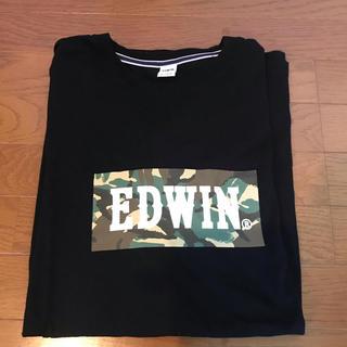 EDWIN - ⭐️ エドウィン Tシャツ【ブラック】⭐️