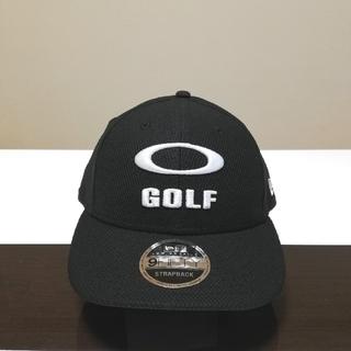 Oakley - USオークリー*NEW ERA コラボ3D GOLFロゴ CAP黒
