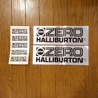 ゼロハリバートン(ZERO HALLIBURTON)のゼロハリバートン ステッカー 7枚セット(しおり/ステッカー)