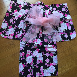 女の子 浴衣(甚平/浴衣)
