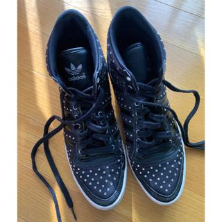 アディダス(adidas)の●adidas originals●25.0・黒・(スニーカー)