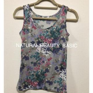 ナチュラルビューティーベーシック(NATURAL BEAUTY BASIC)のNATURAL BEAUTY BASIC トップス(Tシャツ(半袖/袖なし))