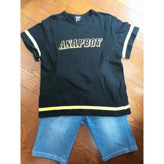 アナップキッズ(ANAP Kids)のお値下げ!!ANAP♡breeze♡SET140(Tシャツ/カットソー)