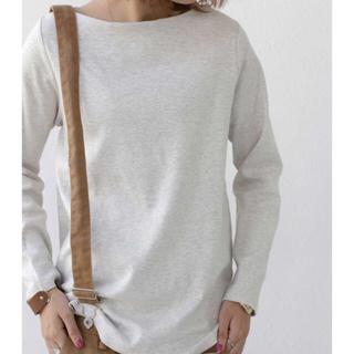 アンティカ(antiqua)のアンティカ ロング Tシャツ オートミール (Tシャツ(長袖/七分))