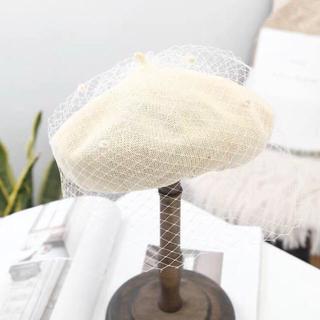 レディース★ベレー帽★画家帽★お洒落★可愛い(ハンチング/ベレー帽)