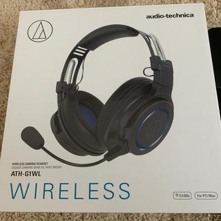 オーディオテクニカ(audio-technica)のaudio technica ATH-G1WL WIRELESS(PC周辺機器)