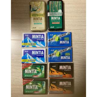 アサヒ(アサヒ)のミンティア セット 10個 組み合わせ変更可能(口臭防止/エチケット用品)