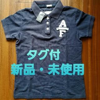 アバクロンビーアンドフィッチ(Abercrombie&Fitch)のアバクロ Abercrombie キッズ ポロシャツ ネイビー 新品 未使用 (Tシャツ/カットソー)