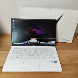 エルジーエレクトロニクス(LG Electronics)の【美品】LG gram 15 office(ノートPC)