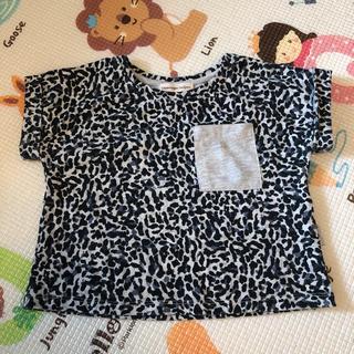 エックスガール(X-girl)のcopenhagen Delights アニマル柄 Tシャツ 92(Tシャツ/カットソー)
