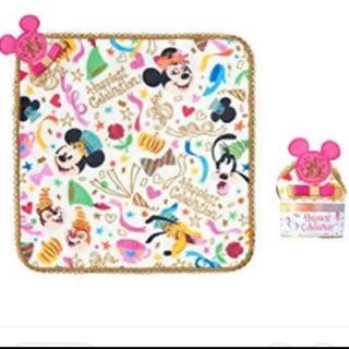 ディズニー(Disney)の【新品未使用】ディズニー35周年 記念商品 ミニタオル(キャラクターグッズ)