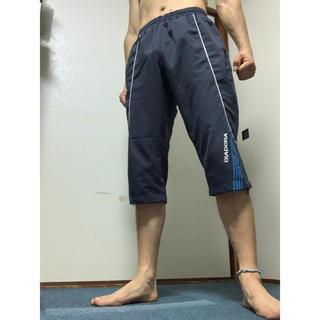 ディアドラ(DIADORA)のディアドラ 七分丈パンツ メンズMサイズ ランニング・テニス・部屋着にも!(ウェア)
